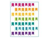 Banner Year - Rainbow Quilt Pattern