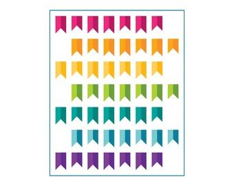 20% OFF: Banner Year - Rainbow Quilt Pattern