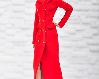 ELENPRIV red dress-jacket for Fashion Royalty FR2 and similar size dolls