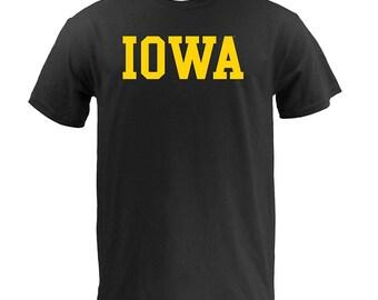 Iowa Hawkeyes Basic Block T-Shirt