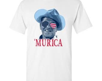 President Ronald Reagan MURICA T-Shirt