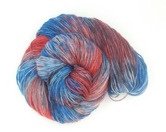 She's A Flatliner Superwash Merino DK Weight Hand Dyed Yarn