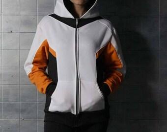 Mercy Medic Healing Overwatch Cosplay Costume Hoodie Jacket