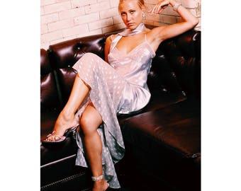 Sweet Siler Silk Dress