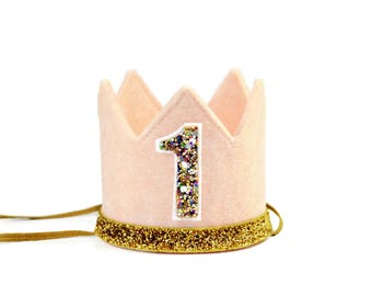 Birthday Crown || Birthday Crown Girl || First Birthday Outfit Girl || First Birthday Crown || 1st Birthday Crown || Birthday Hat