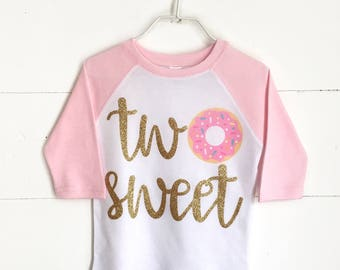 Donut Birthday Outfit, Donut Birthday Party, Second Birthday, Two Sweet, Half Birthday,Baby Girl Second Birthday, Girl 2nd birthday outfit