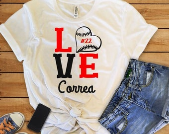 Custom Baseball Shirt, Personalized Softball Shirt, Baseball Mom, Baseball Coach, Softball Mom, Softball Coach, Ball Mom, Ball Player
