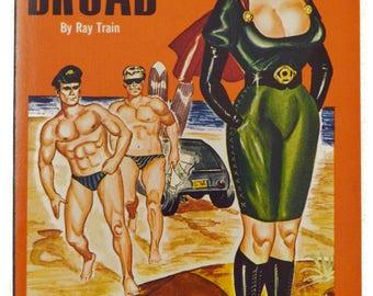 Vintage 60s Surf Broad by Ray Train Satan Press New Unread Pulp Novel Book