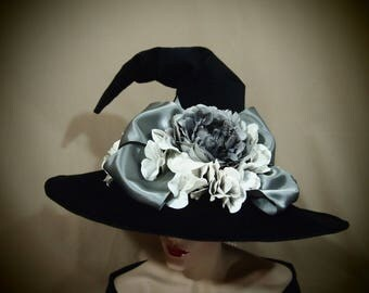 """Witch Hat """"Ghostly Glam"""""""