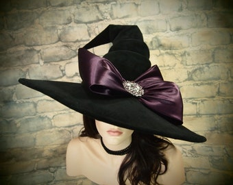 """Witch Hat """"Pretty as a Plum"""""""