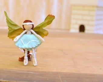 Flower Fairy Doll - flower fairies, waldorf fairy doll, waldorf fairies, miniature fairy doll, miniature fairies, mini fairy doll, pixie