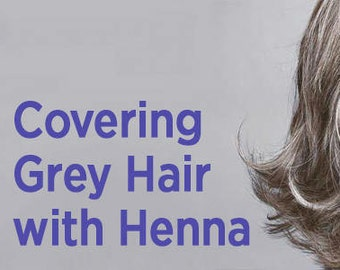 Hair Pack Henna - Turn Gray Hair to red / Black -  Freshly Made to Order - Natural Conditioner