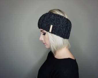 The Eisley Ear Warmer   Charlie & Luna Co., Womens, Mens, Teens, Unisex, Knitted, Crochet, Handmade, Ribbed Ear Warmer,