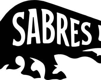 Buffalo Sabres Vinyl Sticker