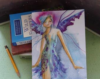 Blue Faerie ~ Notebook