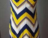 Vintage Sleeveless Stripe...