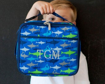 Personalized Jaw-Some Lunch Box