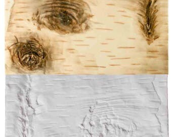 Wood Grain Texture Impression Mat Large By Sugar Delites