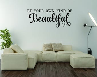 Vinyl Wall Words Home Decor Wall Words by WrittenOnYourWall