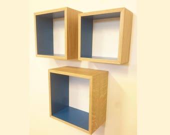 Wall cube, set of 3