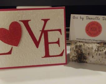 L-<3-V-E Valentines Day Card