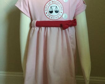 Rockford Peach Dress and Hat Costume in Babies and Kids League of Their Own