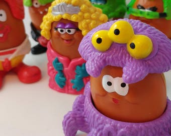 McDonalds McNuggets Fast Food Toys Figures Lot Halloween Cute Mixed Lot