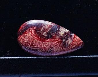 35x19x5 mm Snake Skin Jasper Cabochon