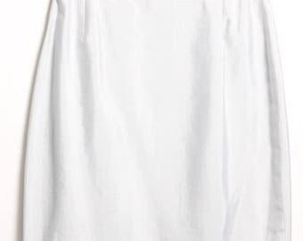Daniel Hechter silk skirt (TS)