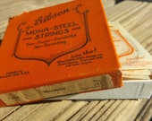 Vtg Gibson Mandolin Mona-Steel Strings in Box