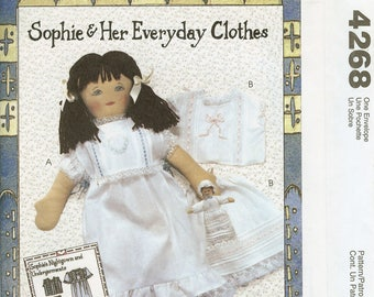 McCalls 4268 Sophie & Her Everyday Clothes Sewing Pattern New Uncut