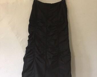 Ronen Chen ruched detail skirt