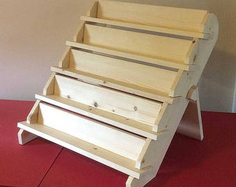 Collapsible Display Stands 40Shelf 40 Collapsible riser portable display stand 25