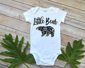 Baby Shower Gift, New Mom Gift, Little Bear, Family Shirts, Mama Bear Set, Mom and Daughter, Mom and Son Shirt, Mom of boys, Baby Bear set