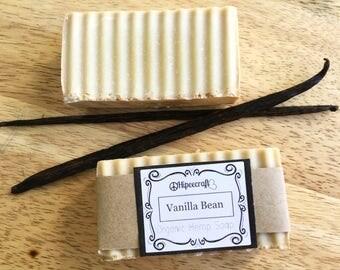 Organic Soap Organic Soap Bar Organic Hemp Soap Bar Vanilla Bar Soap