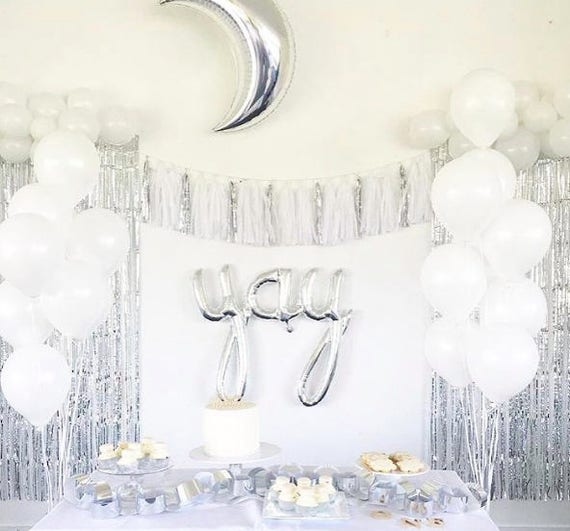 Silver And White Party Fashion Dresses