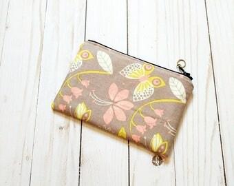 Fancy Butterfly Small Zipper Pouch