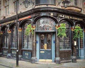 London Photography, English Pub, London Print, Travel Photography, Fine Art Photography