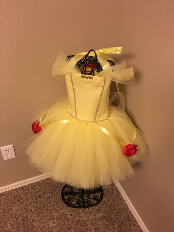 Like this item? & Belle inspired tutu costume / belle costume / belle tutu /