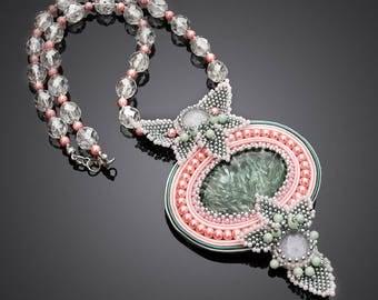Soutache necklace Seraphine