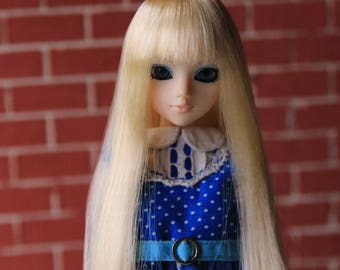 Blond Wig for J-doll, Momoko, Obitsu 3.5-4 inch