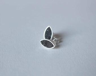 minimalist earrings, post earrings, stud earrings, concrete earrings, modern earrings, contemporary earrings, geometric earrings