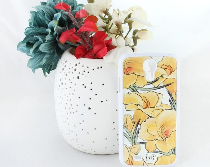 Daylily Samsung Galaxy S5 Case - Daylily S5 Case - Floral Samsung Galaxy S5 Case - Yellow Flower Samsung Galaxy S5 Case -Samsung Galaxy Case