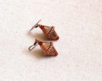 Vintage Style Earrings. Handmade Vintage Earrings. Gift For Women. Bohemian Earrings. Gift Under 15 Dollar. Christmas Gift. Dangle Earrings.
