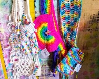 festival belt plus size crochet utility renaissance pride carnival faire state fair
