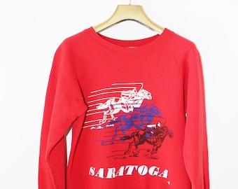 Red Vintage Sweatshirt