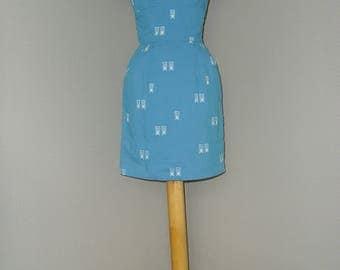 50s Alfred Shaheen Honolulu Tiki Dress