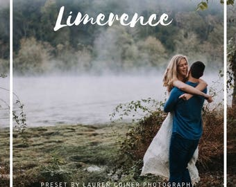 Adobe Lightroom preset- Limerence