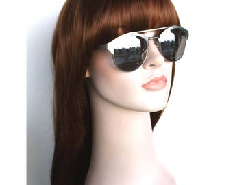 Christmas wig Sale. Brown long straight wig with bangs. synthetic hair. high quality wig. ready to ship. New Year's Eve party wig.