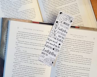Gilmore Girls - Where you lead, I will follow - Bookmark